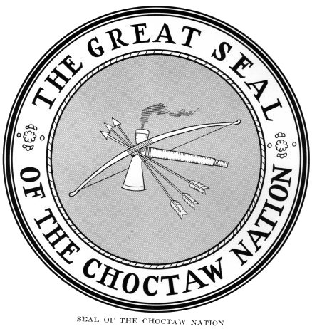 The Great Seal of the Choctaw Nation